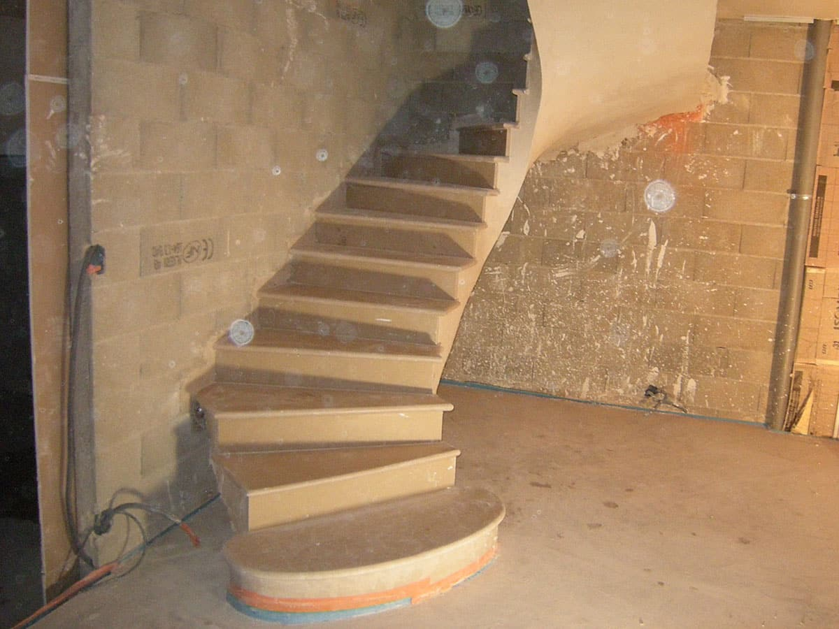 escaliers auto-portants