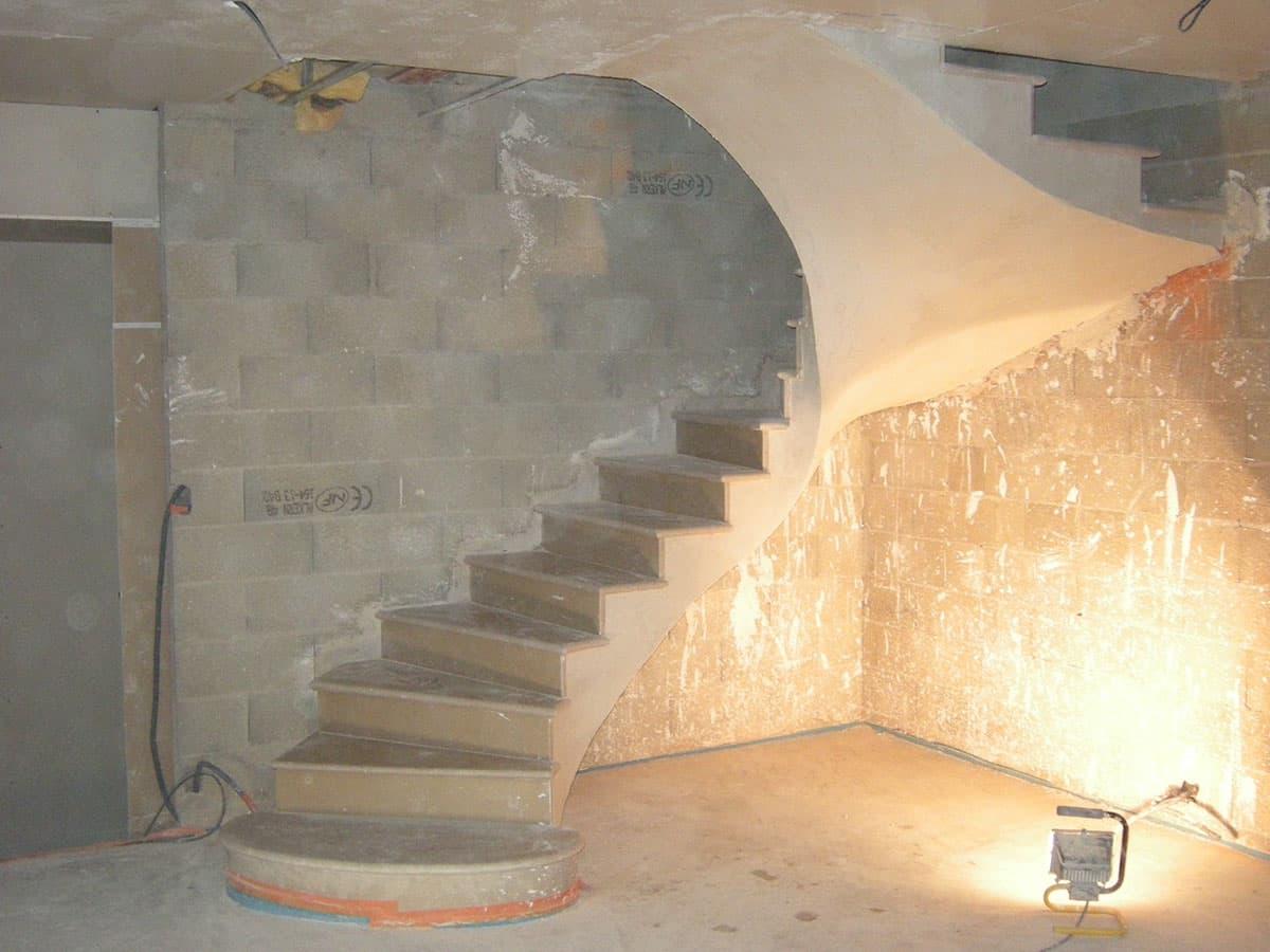 Escalier sous voûte Sarrasine
