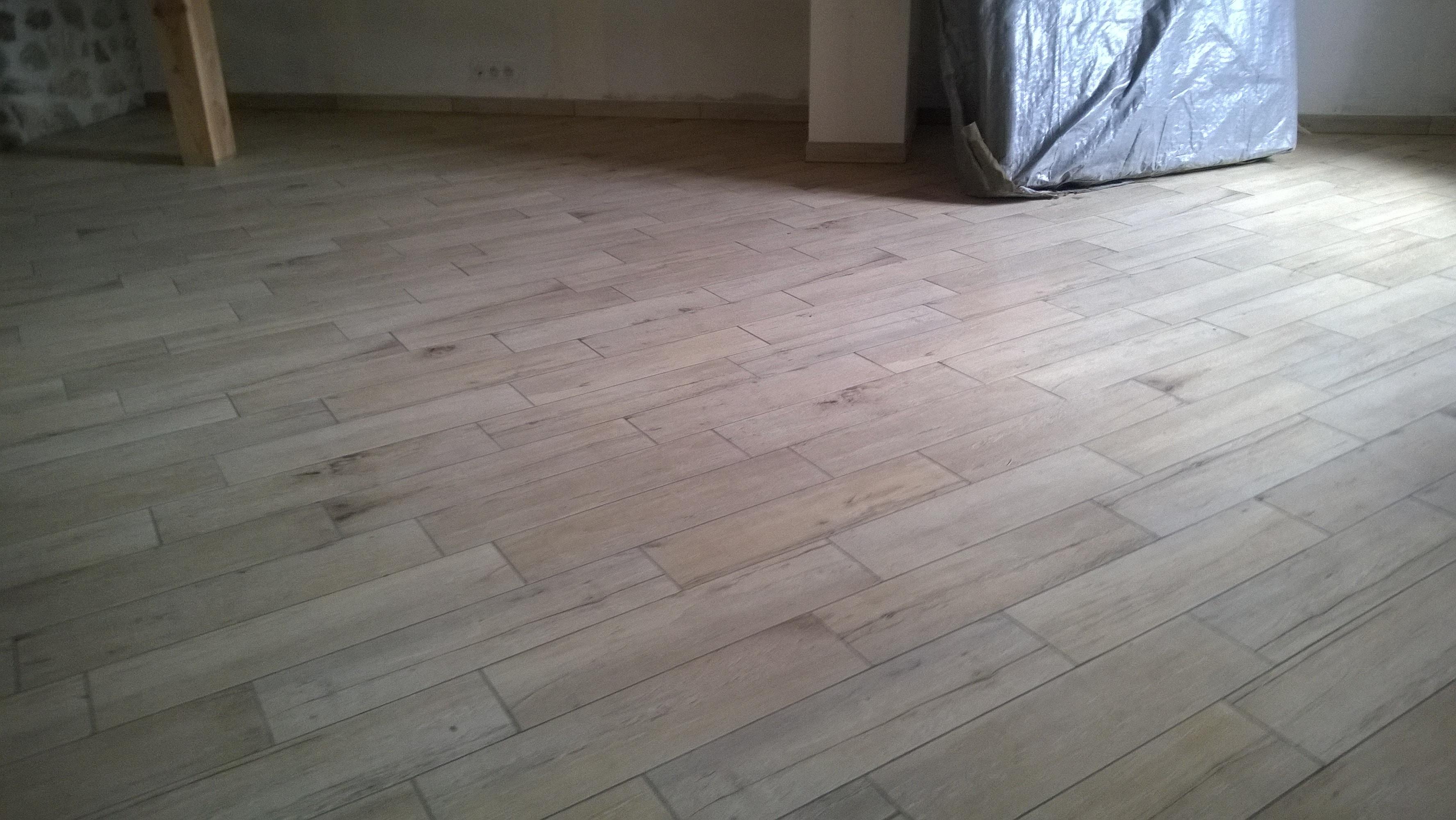 carrelage façon plancher bois